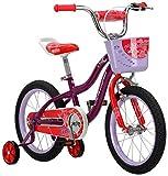Schwinn Elm Girls Bike for Toddlers and Kids,...