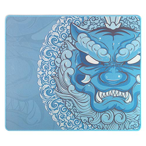 Esports Tiger LingYun Gaming Mouse Pad - Blue, Large (480 x 400 x 4mm)