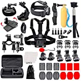 Black Pro Camera Accessory Kit Compatible with GoPro Hero 8/AKASO