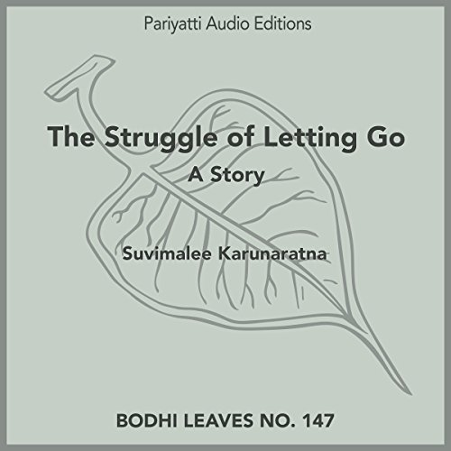 The Struggle of Letting Go audiobook cover art