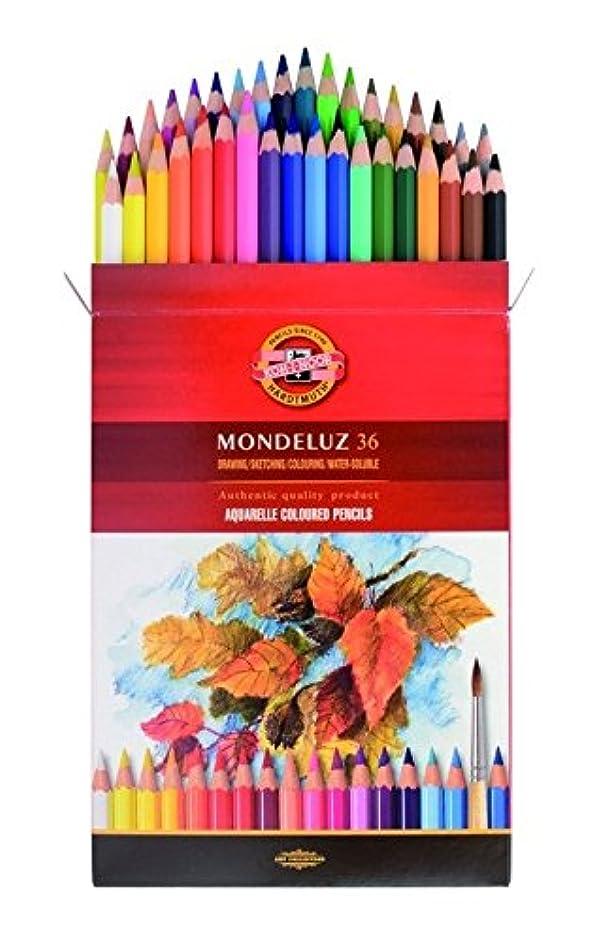 KOH-I-NOOR Mondeluz Fruit Aquarell Coloured Pencils (Set of 36)