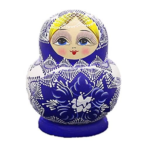 Bambola della principessa della pentola sveglia di 10 strati, bambola del regalo di compleanno del regalo della bambola di nidificazione russa per la ragazza, regalo di puzzle della principessa del ba