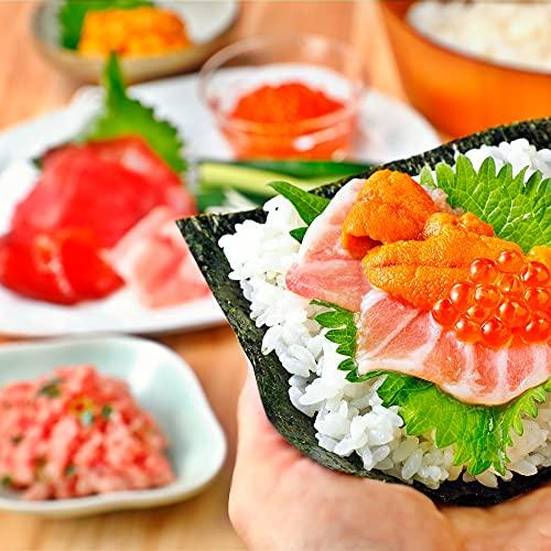 海鮮福袋「竹」 本鮪 大トロ 中トロ うに いくら 入り 食べ比べ マグロ ねぎとろ 贈り物 豪華セット