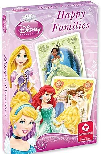 Cartamundi Happy Families Disney Princess - Gioco di carte con istruzioni in inglese