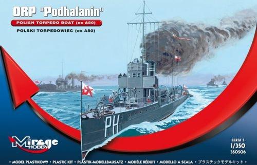Mirage Hobby 350506, 1: 350 échelle, ORP Podhalanin 'polonaise torpilleur (ex A80), kit de modèle en plastique