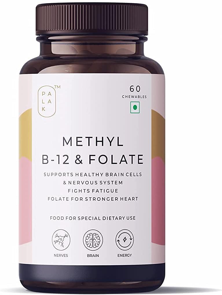 outlet Trisha Palak Notes: Vitamin B12 Industry No. 1 + Folate Methylcobalamin Meth