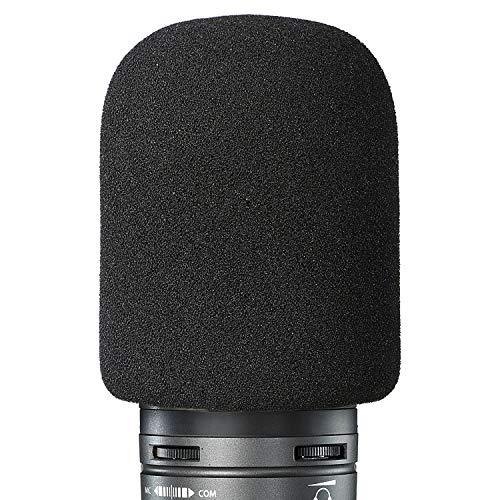 Espuma Paraviento Micrófono Parabrisas para Audio Technica AT2020 Condenser Micrófono como Filtro Pop por YOUSHARES