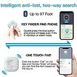 NUT 2.0 Tracker Bluetooth Anti Smarrimento Bianco Localizzatore GPS Intelligente