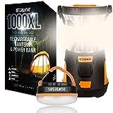 Camping Lantern Bundle - Internova 1000XL Camping Lantern + Halo 150 Tent Lantern Gift Set