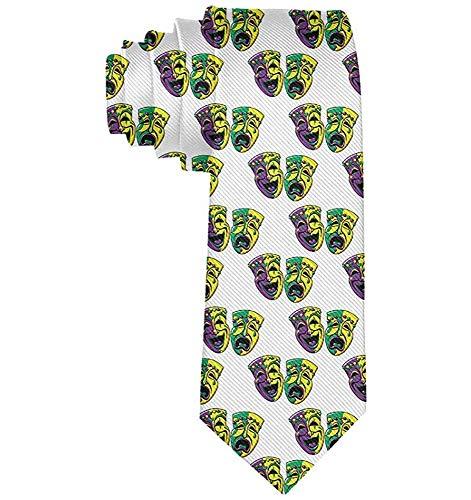 Männer 'S Neuheit Mode Krawatte Karneval Karneval Maske Krawatte Für Hochzeit/Party/Büro/Geschenk