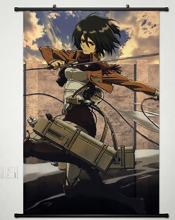 sp210610 Attack on Titan Japan Anime Home Decor Wall Scroll Poster 21 x 30cm