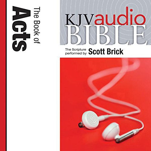 King James Version Audio Bible: The Book of Acts audiobook cover art