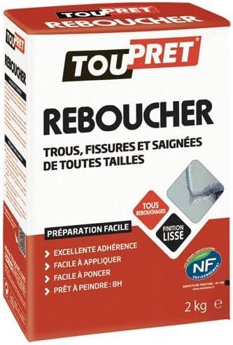 Photo de toupret-mortier-adhesif-poudre-2kg