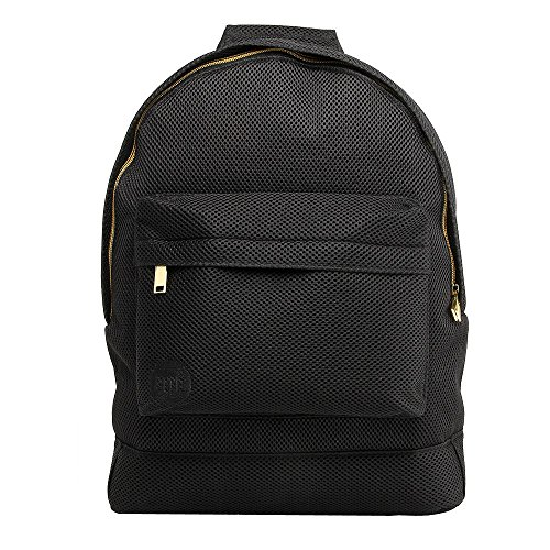 Mi-Pac Gold, Mochila Tipo Casual, 41 cm, 17 litros, All Mesh Black