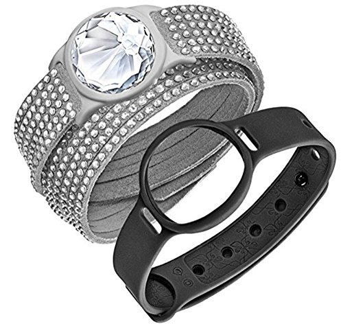 (スワロフスキー)Swarovski ブレスレット レディース ジュエリー Grey Slake Deluxe Activity Crystal Set ...