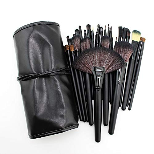 Make-up-Pinsel Contour Brush 32 Schwarz Premium-Pinselset Puderpinsel-Makeup Beauty-Makeup-Tools...