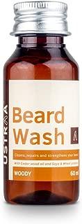 Ustraa Beard Wash for men new (60 ml)