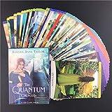 Los Tarjetas Tarot Quantum Oracle, Divinación del destino Fortune Decling Tarjetas Papel