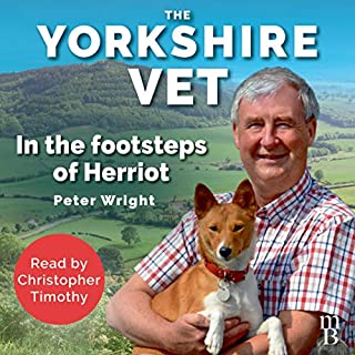 The Yorkshire Vet audiobook cover art