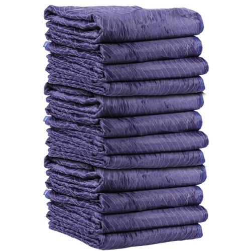 85 lbs Premium Woven Moving Blankets 72' x 80' (1 Dozen)