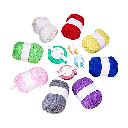 PandaHall Kit para Hacer Bolas de Pompones Manualidades con