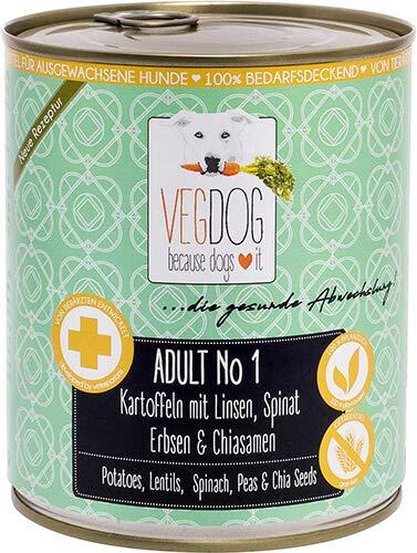 VegDog Adult No1-800g (Menge: 6 je Bestelleinheit)