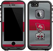 Skinit Decal Skin for LifeProof fre iPhone 6/6s - Officially Licensed Ohio State University OSU Ohio State Buckeyes Flag Design