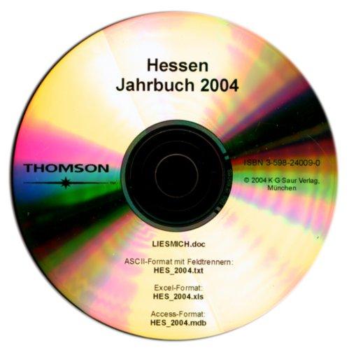 Hessen Jahrbuch 2004, 1 CD-ROM Ministerien, Behörden, Kommunen, Verbände, Einrichtungen des öffentlichen Lebens [import allemand]