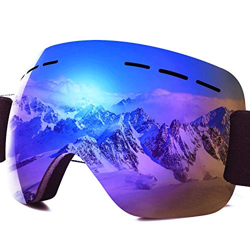 PHYLES Lunettes de Ski, Masques Snowboard pour...