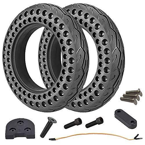 HORO.ES Pack/Kit de Neumáticos Macizos 10