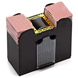 Best Card Shufflers - 1-6 Deck Casino Automatic Card Shuffler for Poker Review