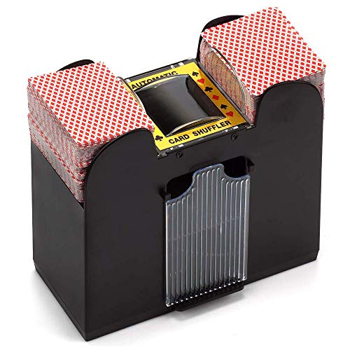 1-6 Deck Casino Automatic Card Shuffler for Poker Games