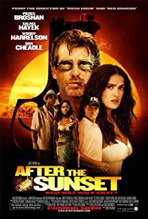 AFTER THE SUNSET 11x17 INCH PROMO MOVIE POSTER