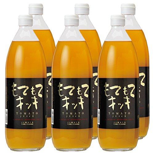北海道 仁木町産 もてもてキッキ ミニトマトジュース(イエローミミ) (1000ml×6本)