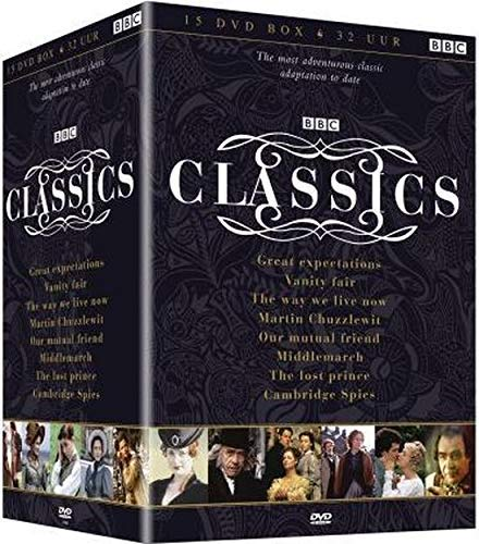 BBC Classics - 15-DVD Boxset ( Great Expectations / Vanity Fair / The Way We Live Now / Martin Chuzzlewit / Our Mutual Friend / Middlemarch / The Lost Prince / [ Holländische Import ]