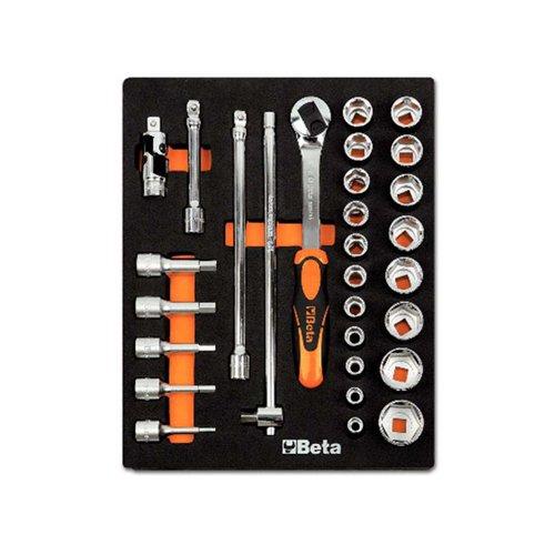 Beta 2451mv82vacío suave en bandeja con herramienta surtido, modelos un/920A, un/920/Me, 125, 250, 920/25, 920/42, 920/55