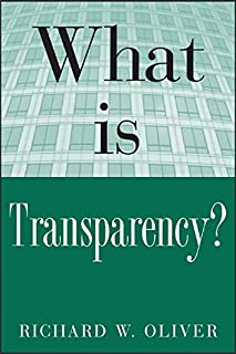 What is Transparency? (What Is the What Is . . . Series)