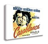 Casablanca Film Poster Auf Leinwand, (76,2x