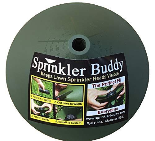 Sprinkler Buddy - 50 Pack, Sprinkler Guard Donuts, Remove Sprinkler Head to Install, See Video