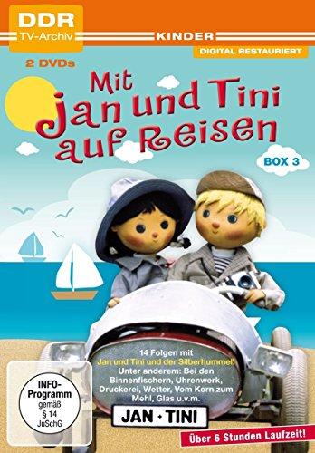 Mit Jan und Tini auf Reisen - Box 3 (DDR TV-Archiv) [2 DVDs]
