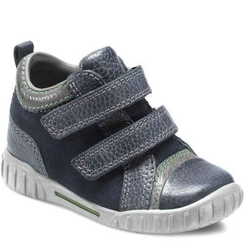 ECCO Chaussures gmbH, Mimic (Bleu/Titane) - - Marine/Titanium, 21 EU