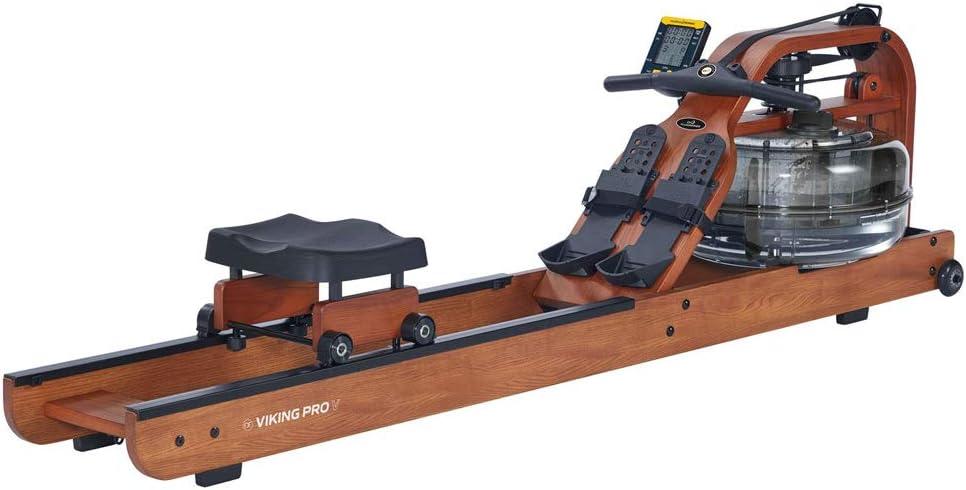 First Degree Fitness Viking Pro V Rudergerät Wasser Rudergerät aus Holz