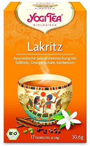 Yogi Tee Lakritz - 17 Tee Beutel - Yogi Tea -