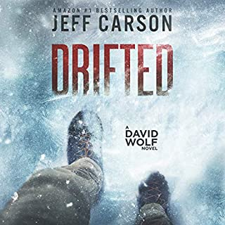 Drifted     David Wolf Series, Book 12              By:                                                                                                                                 Jeff Carson                               Narrated by:                                                                                                                                 Sean Patrick Hopkins                      Length: 6 hrs and 52 mins     82 ratings     Overall 4.5