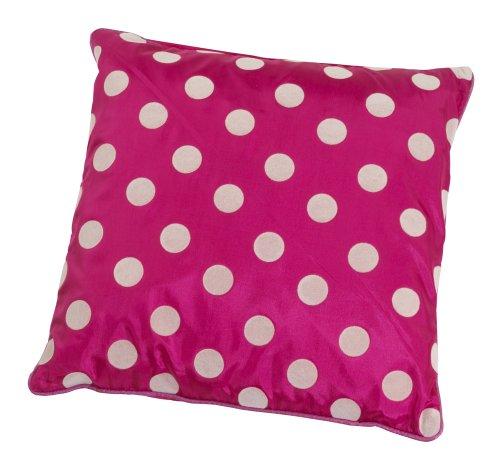 Kas Kids Ellie Daunengefülltes Kissen Milly, 45x45cm, rosa