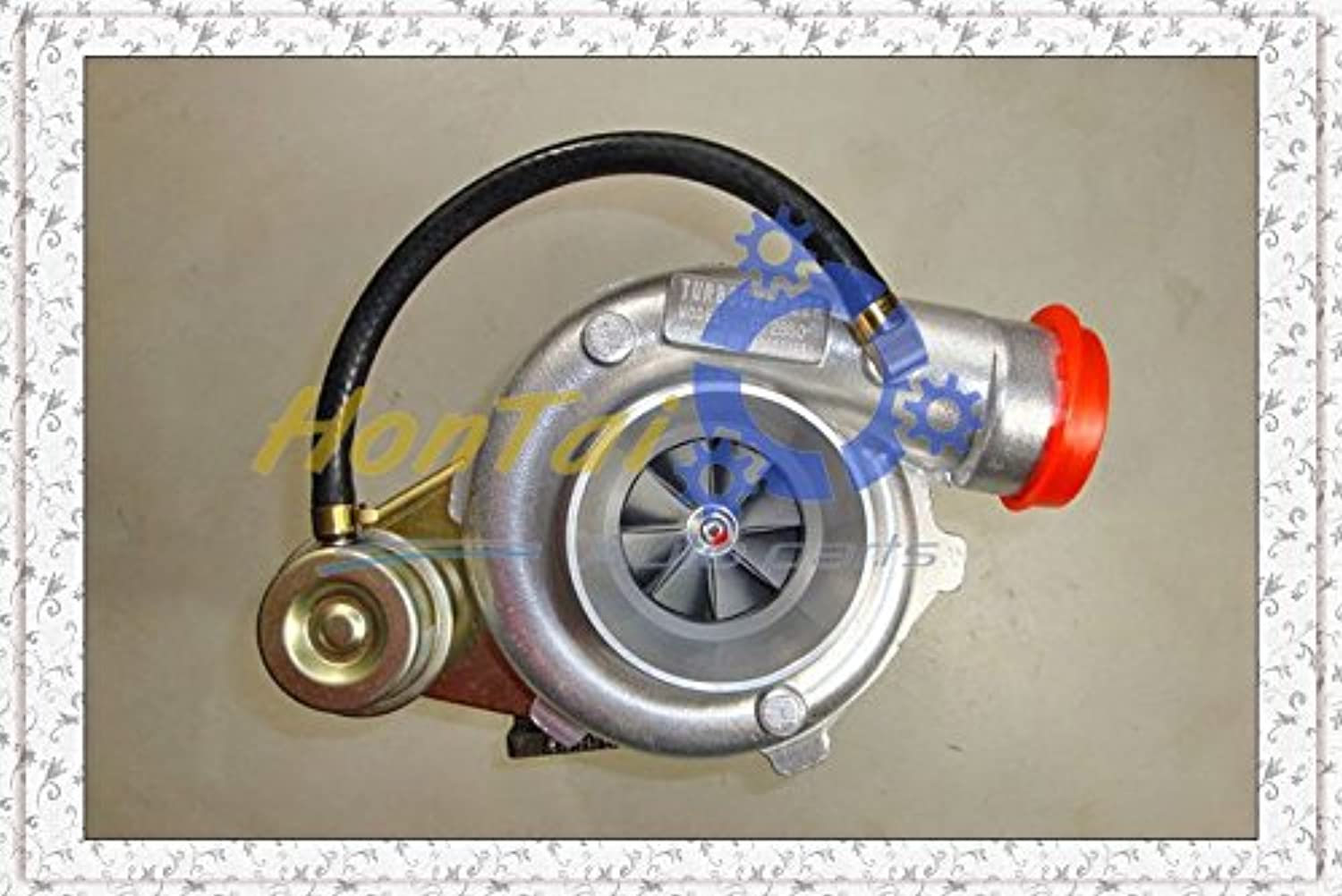 New Turbo Turbocharger GT2860 compressor  a r. 42 turbine  a r.64 water cooled T25