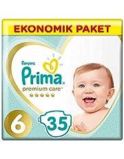 Prima Bebek Bezi Premium Care 6 Beden 35 Adet Ekstra Large Ekonomik Paket