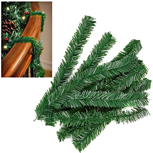 Premier 10 Pack Artificial Tree Christmas Garland Wire Ties - Green
