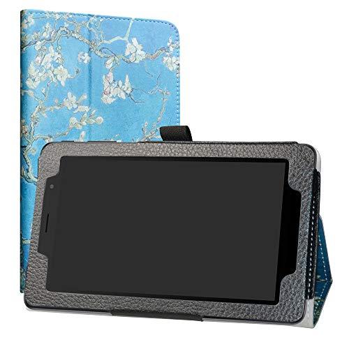 Alcatel 1T 7 inch hülle,LiuShan Folding PU Leder Tasche Hülle Hülle mit Ständer für 7