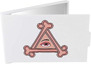 'Triangular Eye & Bones' Compact / Travel / Pocket Makeup Mirror (CM00024341)